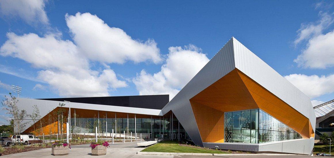 Commonwealth Community Recreation Centre, Edmonton, AB - Building Envelope by Clark Builders