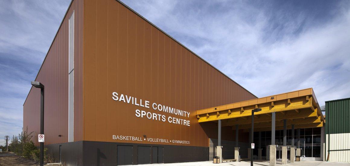 A previous Design-Build project, the Saville Community Sports Centre, Edmonton, AB