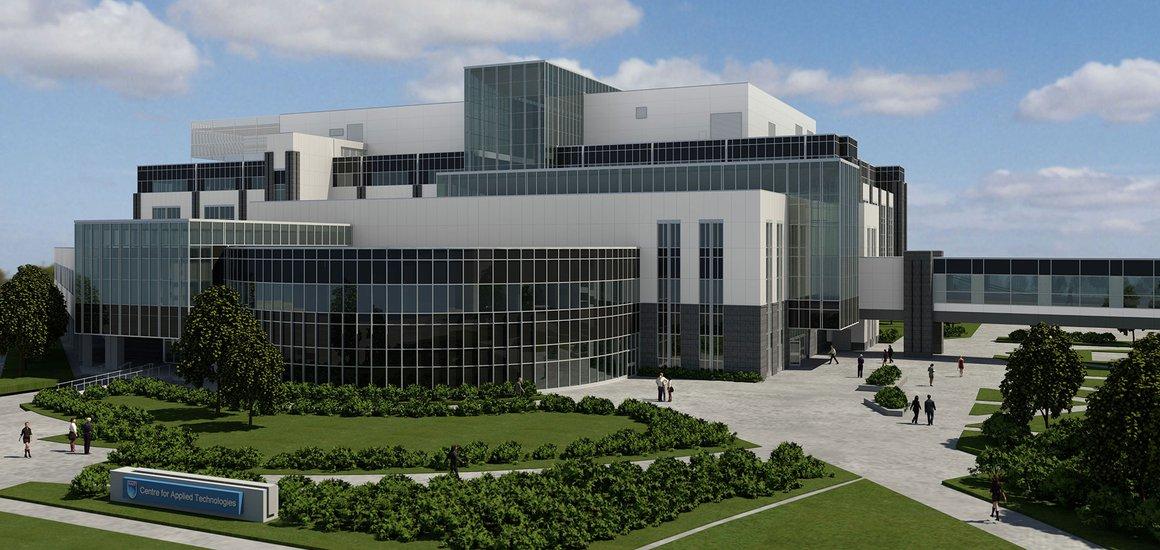 NAIT Centre For Applied Technologies, Edmonton, AB - Concrete Building Project
