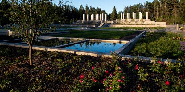 Aga Khan Garden at the University of Alberta Botanic Garden