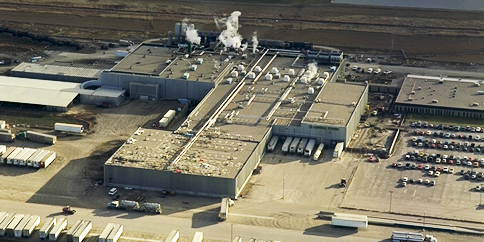 Cargill Foods Beef Processing Plant