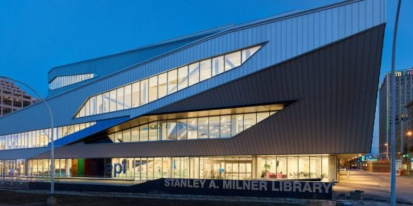 Stanley A. Milner Library Renewal