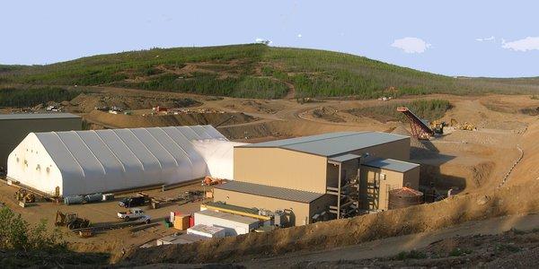Minto Copper Mine